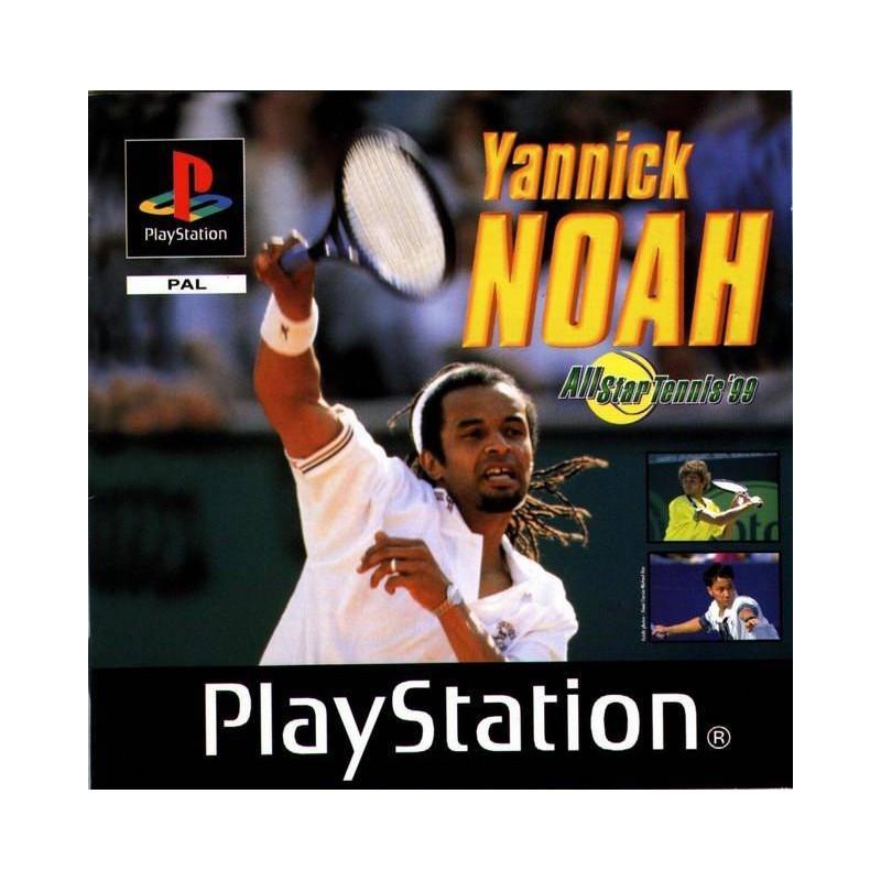 PSX YANNICK NOAH ALL STAR TENNIS 99 - Jeux PS1 au prix de 2,95€