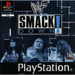 PSX WWF SMACK DOWN - Jeux PS1 au prix de 3,95€