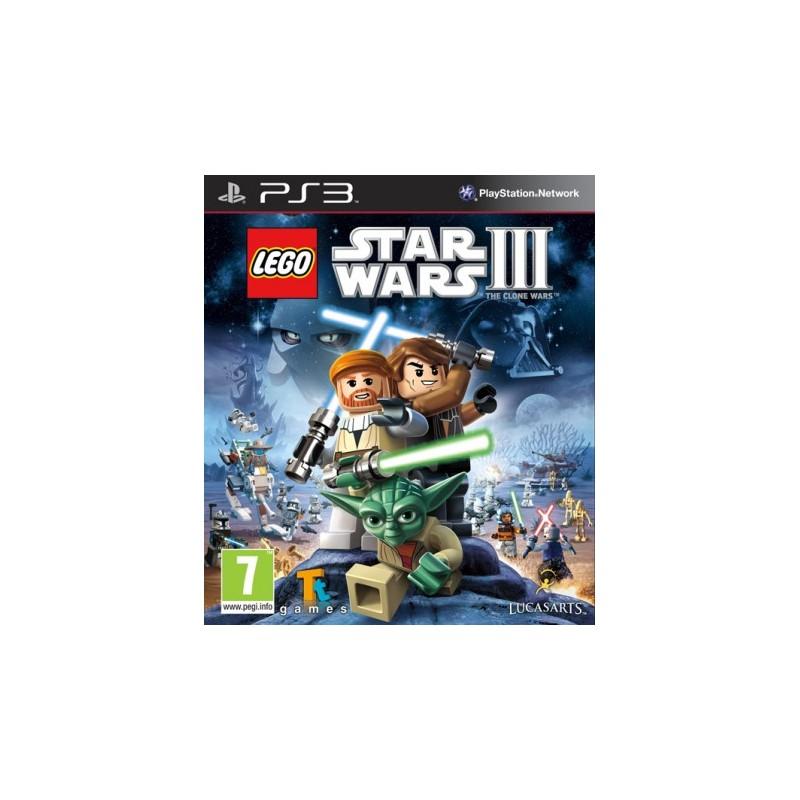 PS3 LEGO STAR WARS 3 - Jeux PS3 au prix de 14,95€