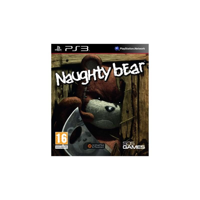 PS3 NAUGHTY BEAR - Jeux PS3 au prix de 9,95€