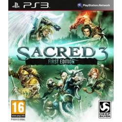 PS3 SACRED 3 - Jeux PS3 au prix de 9,95€