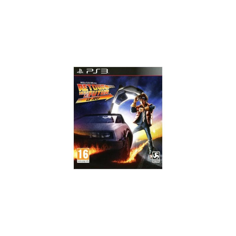 PS3 RETOUR VERS LE FUTUR LE JEU - Jeux PS3 au prix de 23,95€