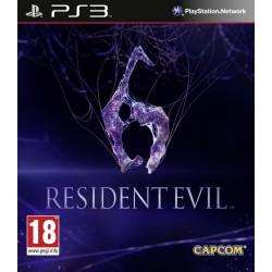 PS3 RESIDENT EVIL 6 - Jeux PS3 au prix de 7,95€