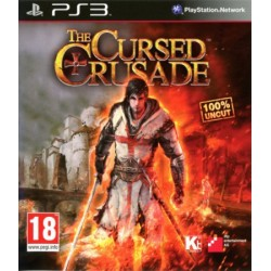 PS3 THE CURSED CRUSADE - Jeux PS3 au prix de 9,95€
