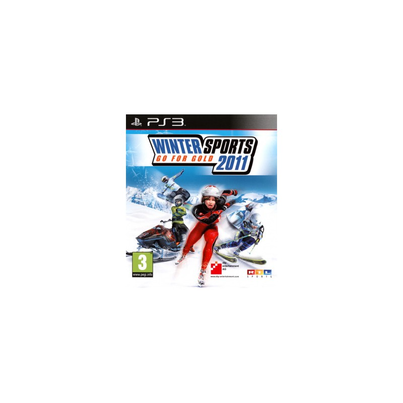 PS3 WINTER SPORTS 2011 - Jeux PS3 au prix de 9,95 €