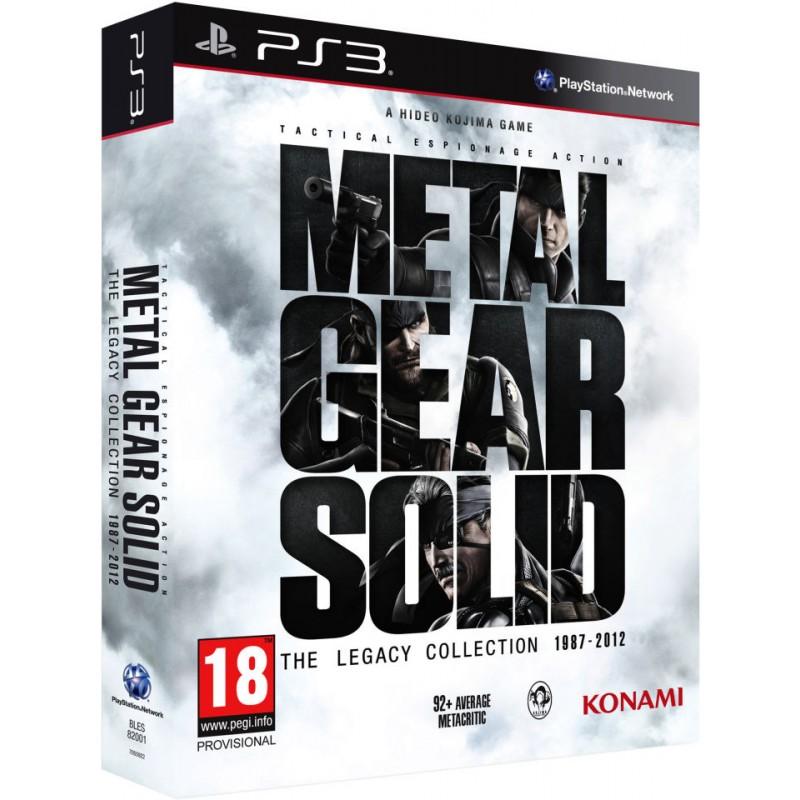 PS3 METAL GEAR SOLID THE LEGACY COLLECTION - Jeux PS3 au prix de 39,95€