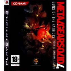 PS3 METAL GEAR 4 - Jeux PS3 au prix de 4,95€