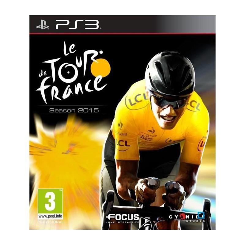 PS3 LE TOUR DE FRANCE 2015 - Jeux PS3 au prix de 8,95€