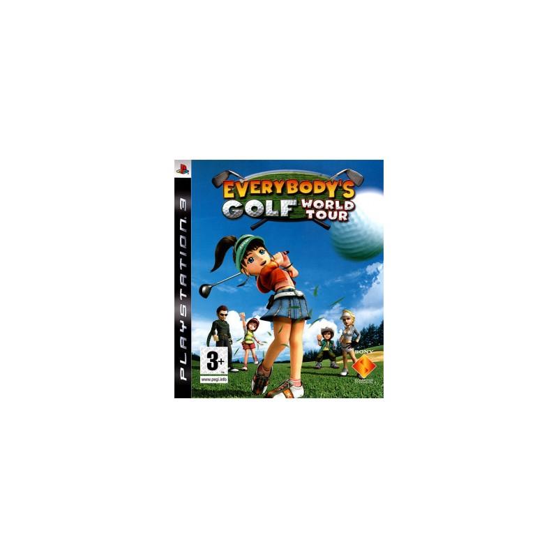 PS3 EVERYBODY S GOLF TOUR - Jeux PS3 au prix de 15,95€