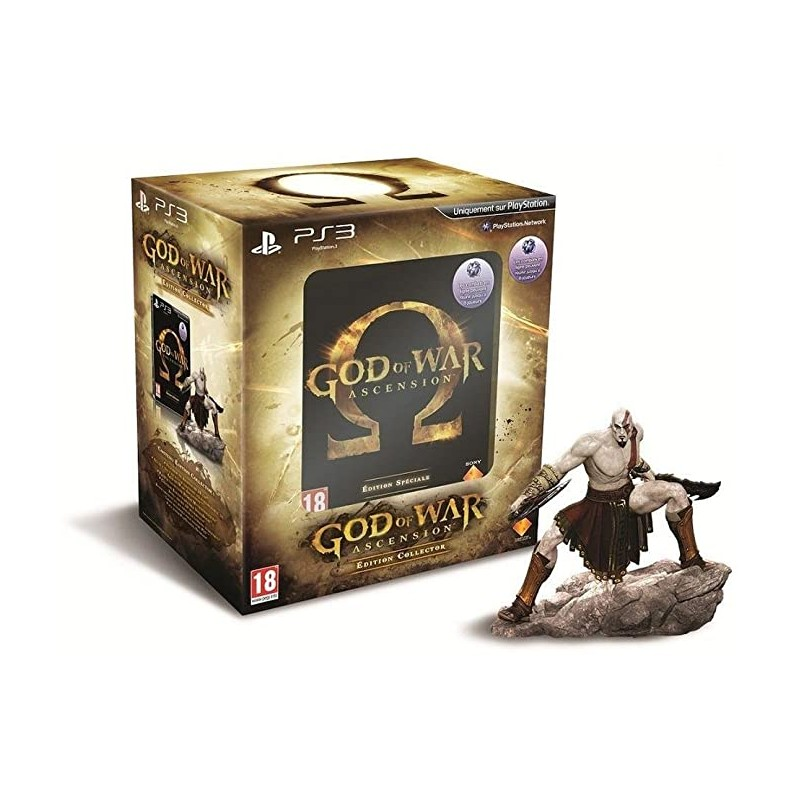 PS3 GOD OF WAR ASCENSION EDITION COLLECTOR - Jeux PS3 au prix de 29,95 €