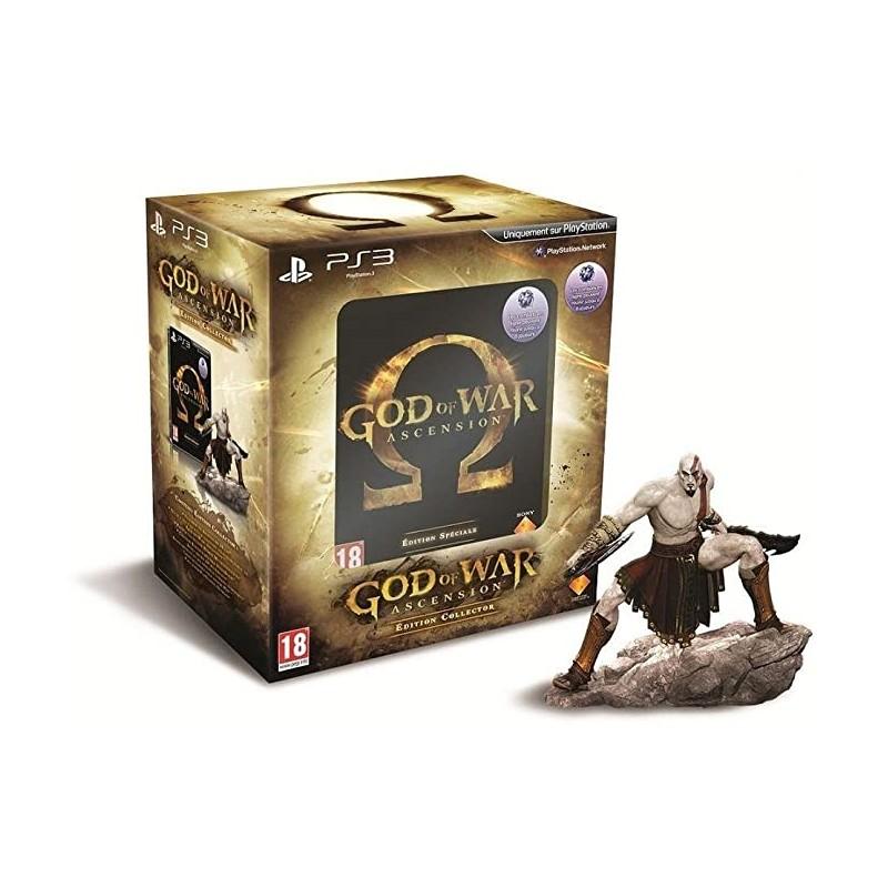 PS3 GOD OF WAR ASCENSION EDITION COLLECTOR - Jeux PS3 au prix de 29,95€