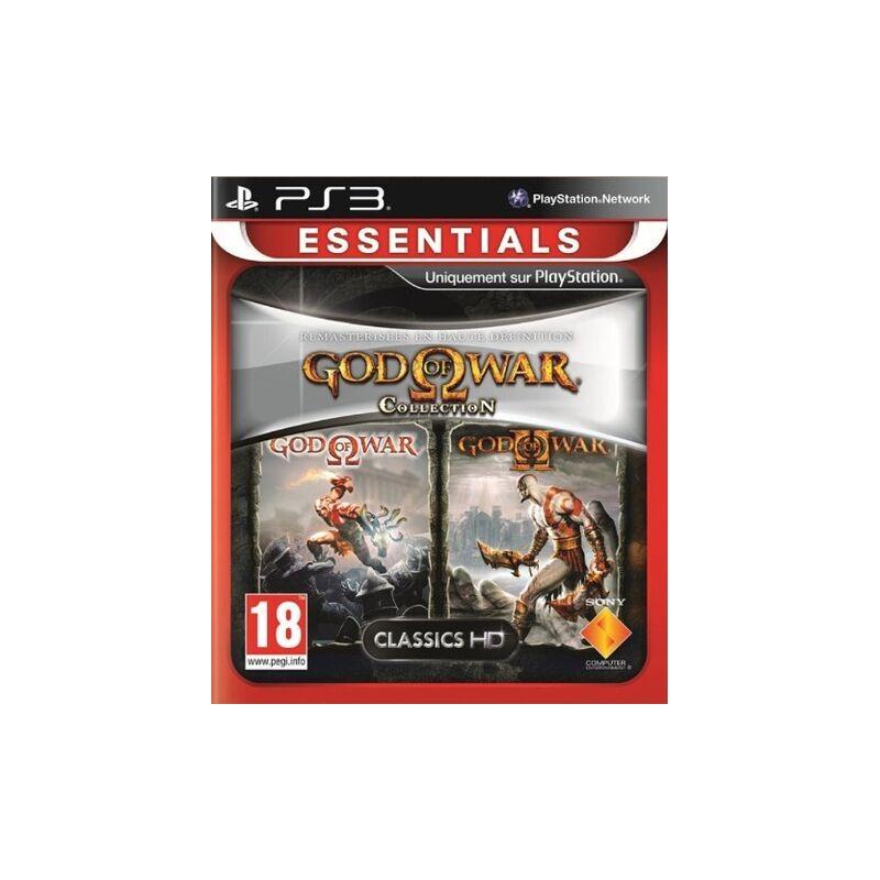 PS3 GOD OF WAR COLLECTION ESSENTIALS - Jeux PS3 au prix de 11,95€