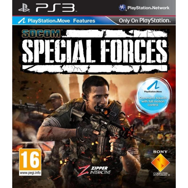 PS3 SOCOM SPECIAL FORCES - Jeux PS3 au prix de 6,95€