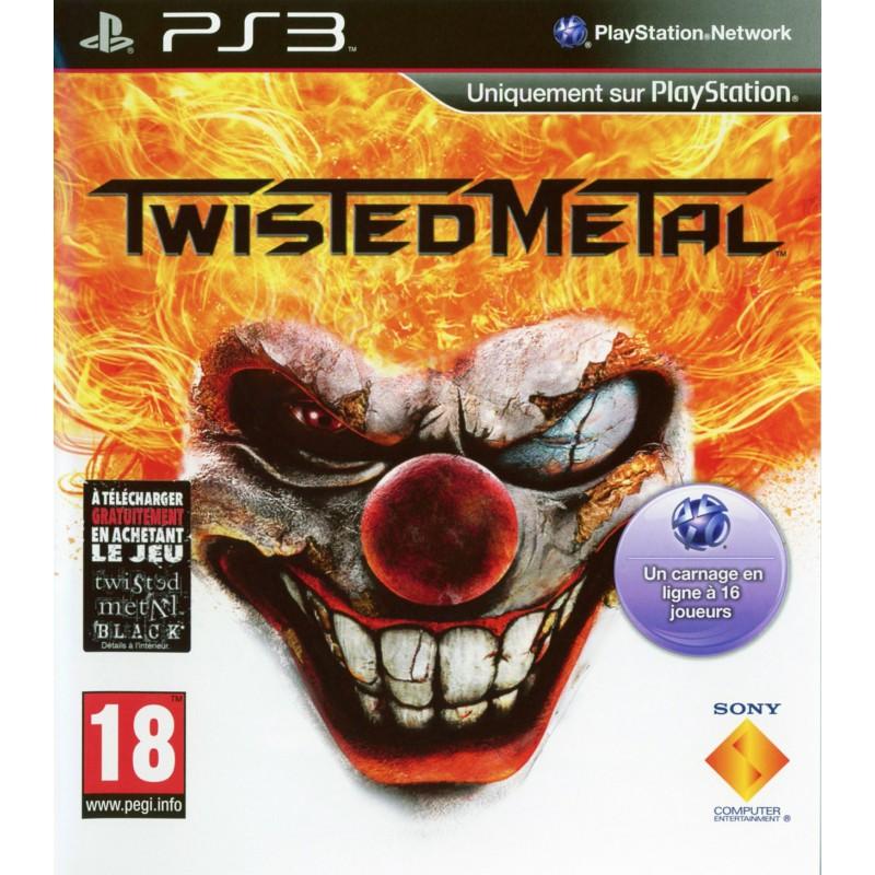 PS3 TWISTED METAL - Jeux PS3 au prix de 14,95€