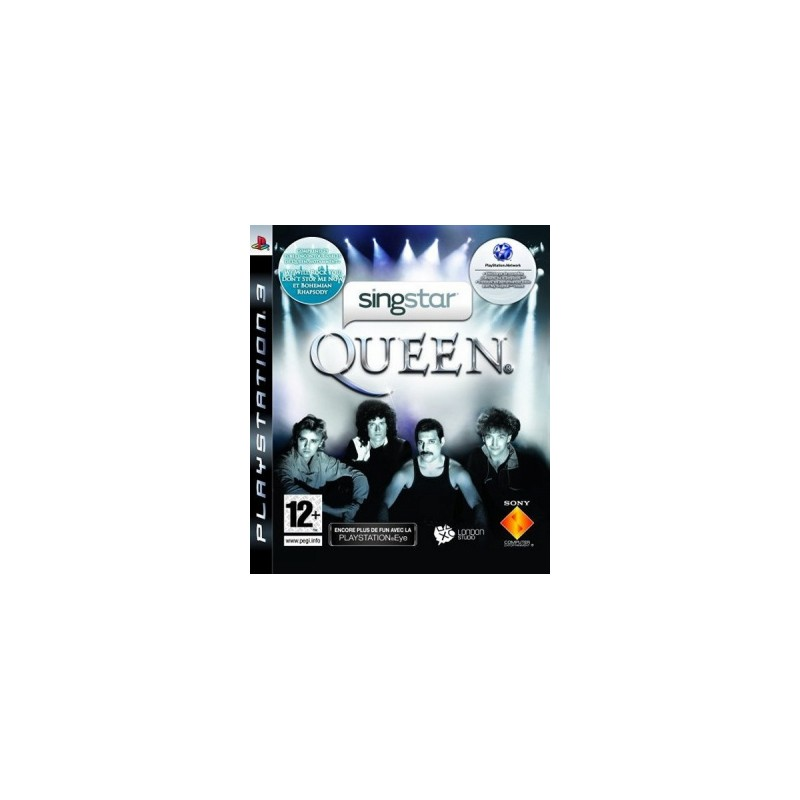 PS3 SINGSTAR QUEEN - Jeux PS3 au prix de 19,95€