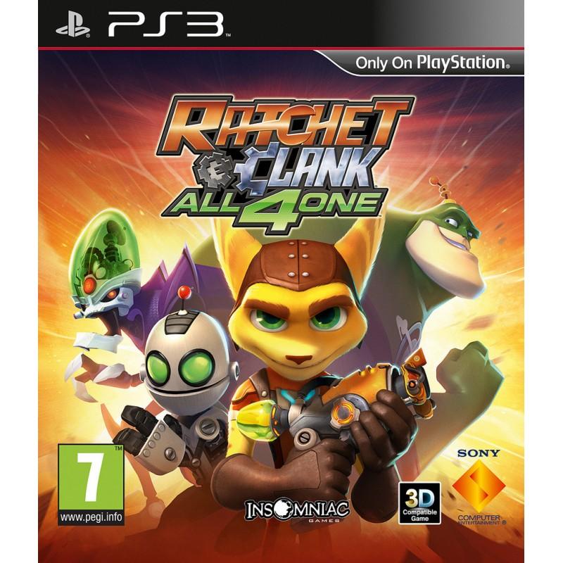 PS3 RATCHET ET CLANK ALL 4ONE - Jeux PS3 au prix de 12,95€