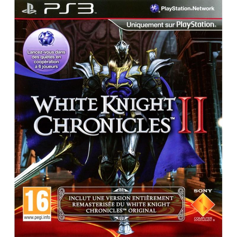 PS3 WHITE KNIGHT CHRONICLES 2 - Jeux PS3 au prix de 9,95€