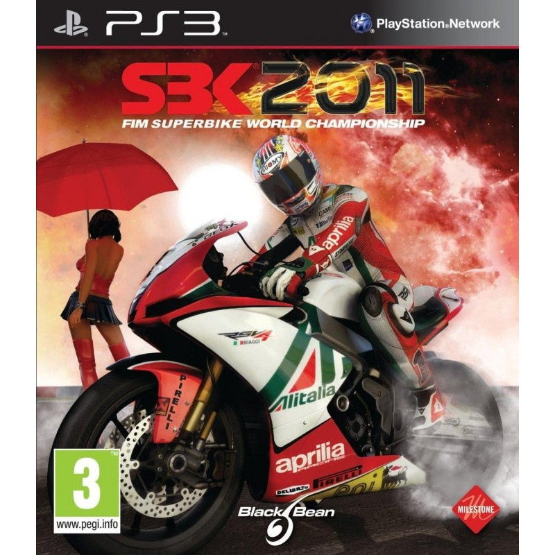 PS3 SBK 2011 - Jeux PS3 au prix de 29,95€