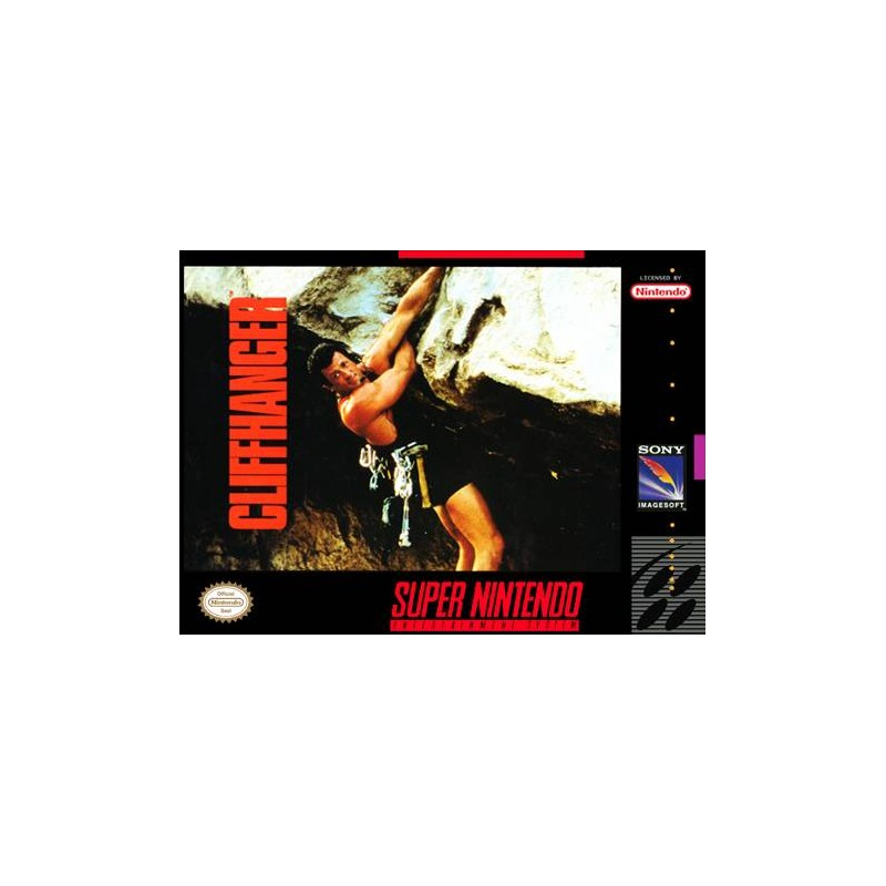 SN CLIFFHANGER (IMPORT US) - Jeux Super NES au prix de 9,95€