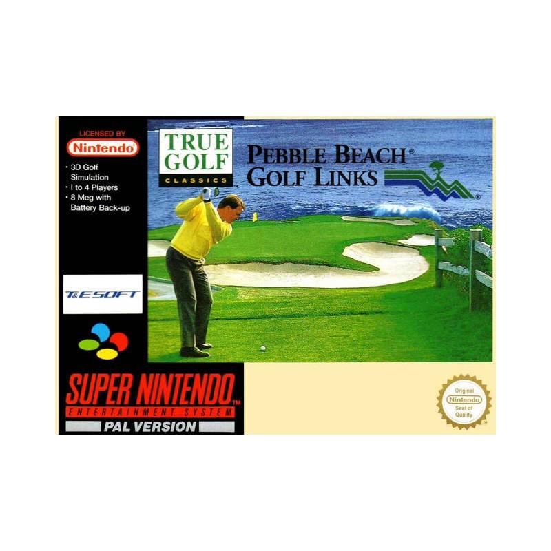 SN TRUE GOLF PEBBLE BEACH GOLF LINKS (IMPORT US) - Jeux Super NES au prix de 4,95€