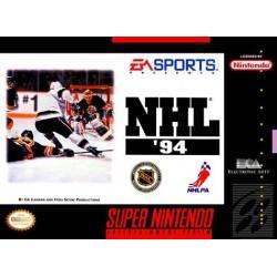 SN NHL 94 (IMPORT US) - Jeux Super NES au prix de 4,95€