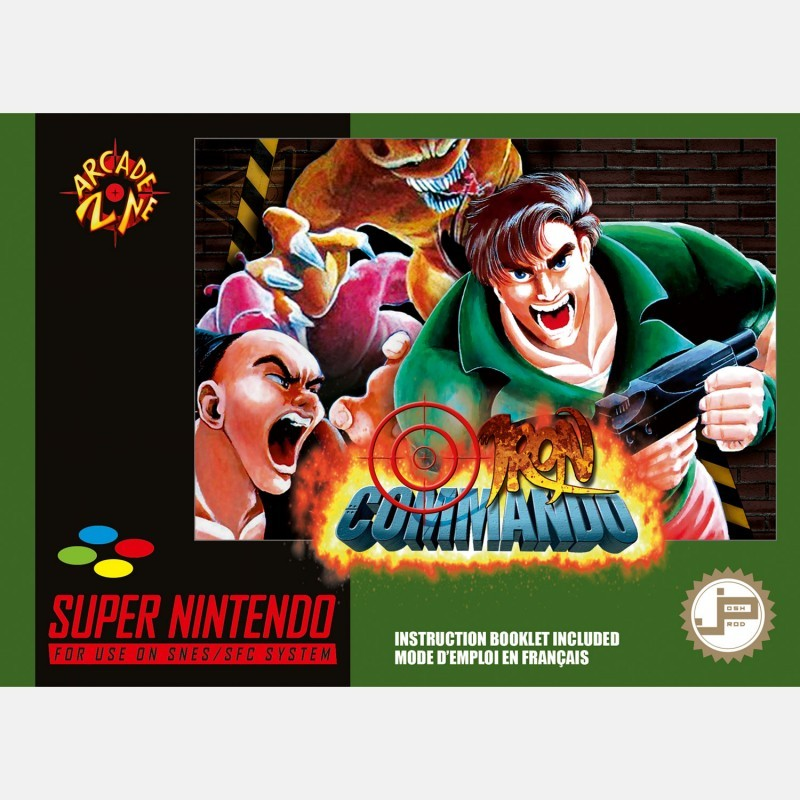 SN IRON COMMANDO (NEUF) - Jeux Super NES au prix de 49,95€
