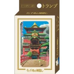 JEU DE CARTES GHIBLI LE VOYAGE DE CHIHIRO - Cartes à collectionner ou jouer au prix de 14,95€