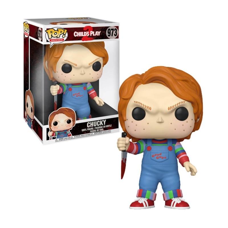 POP CHILD S 973 CHUCKY 10 POUCES - Figurines POP au prix de 39,95€