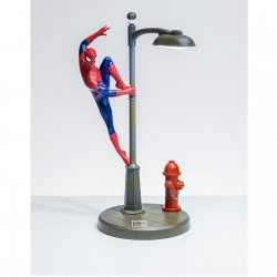 LAMPE DECORATIVE 34 CM SPIDERMAN - Lampes Décor au prix de 59,95 €