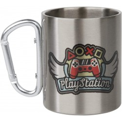 MUG PLAYSTATION AILES METALLIQUE 300ML - Mugs au prix de 14,95 €