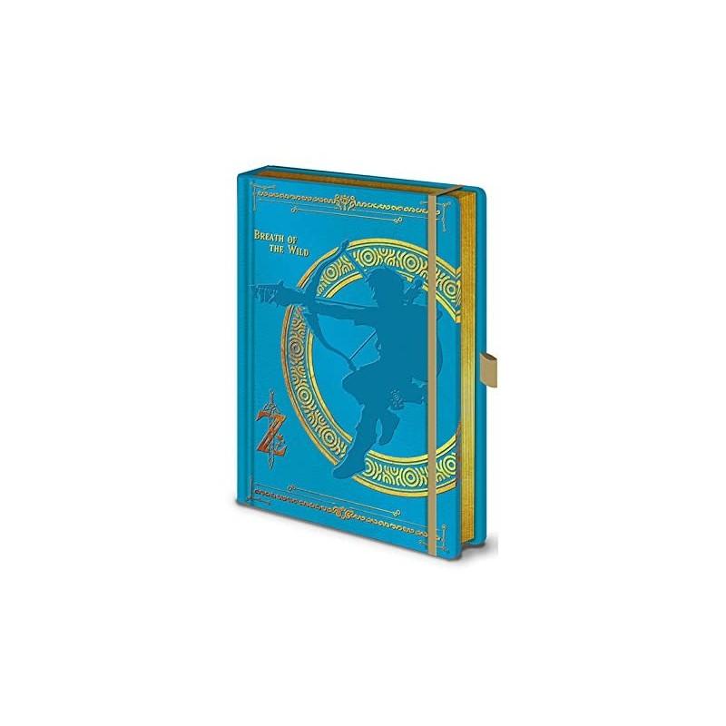 NOTEBOOK A5 PREMIUM ZELDA BREATH OF THE WILD - Papeterie au prix de 12,95€