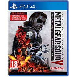PS4 METAL GEAR SOLID V THE DEFINITIVE EXPERIENCE - Jeux PS4 au prix de 19,95€