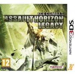 3DS ACE COMBAT ASSAULT HORIZON LEGACY - Jeux 3DS au prix de 11,95€