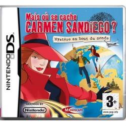 DS MAIS OU SE CACHE CARMEN SAN DIEGO - Jeux DS au prix de 2,95€