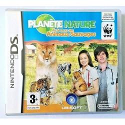 DS PLANETE NATURE AU SECOURS DES ANIMAUX SAUVAGES - Jeux DS au prix de 2,95€