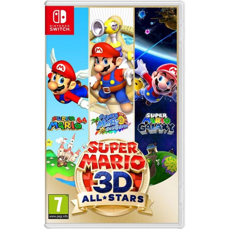 SWITCH SUPER MARIO 3D ALL STARS - Jeux Switch au prix de 59,95€