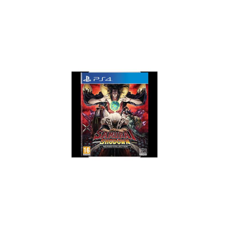 PS4 SAMURAI SHODOWN NEO GEO COLLECTION - Jeux PS4 au prix de 49,95€