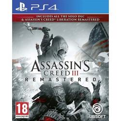 PS4 ASSASSIN S CREED III REMASTERED OCC - Jeux PS4 au prix de 14,95€