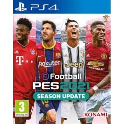 PS4 PES 2021 SEASON UPDATE - Jeux PS4 au prix de 29,95€