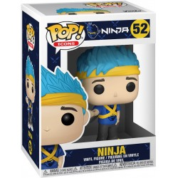 POP FORTNITE 52 NINJA - Figurines POP au prix de 14,95€