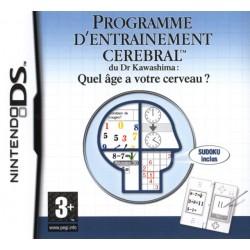 DS PROGRAMME D ENTRAINEMENT CEREBRAL DU DR KAWASHIMA - Jeux DS au prix de 2,95€