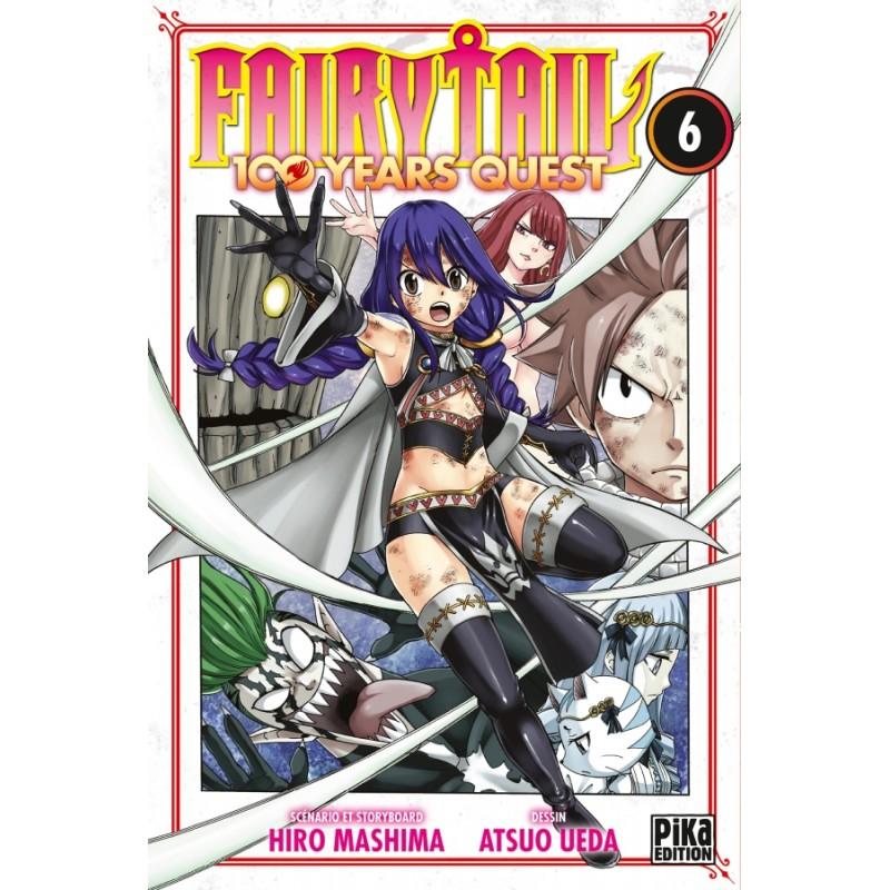 FAIRY TAIL 100 YEARS QUEST T06 - Manga au prix de 6,95€