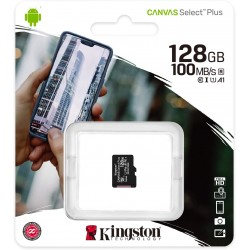 CARTE MICRO SD KINGSTON 128 GO - Supports de Stockage au prix de 29,95€