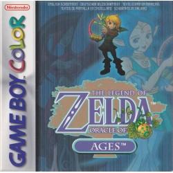 GB THE LEGEND OF ZELDA ORACLE OF AGES - Jeux Game Boy au prix de 59,95€