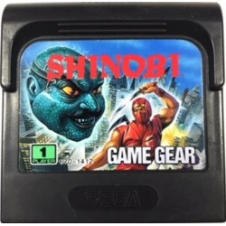 GG SHINOBI (LOOSE) - Game Gear au prix de 9,95€