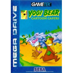 MD YOGI BEAR CARTOON CAPERS (SANS NOTICE) - Jeux Mega Drive au prix de 9,95 €