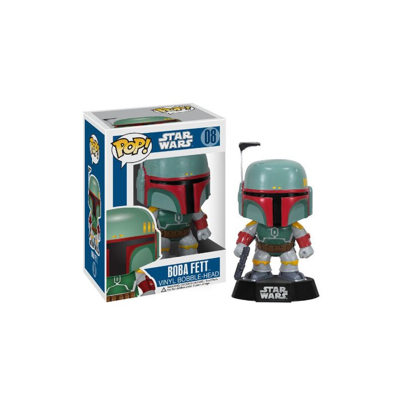 POP STAR WARS 08 BOBA FETT - Figurines POP au prix de 14,95 €