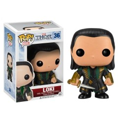 POP MARVEL 36 LOKI - Figurines POP au prix de 14,95 €