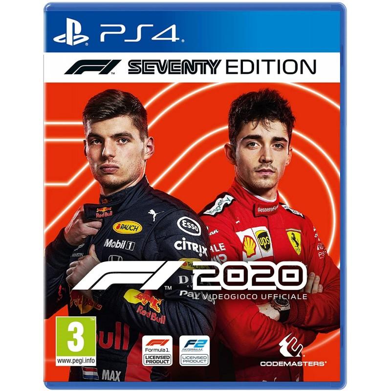 PS4 FORMULA 1 2020 - Jeux PS4 au prix de 49,95€