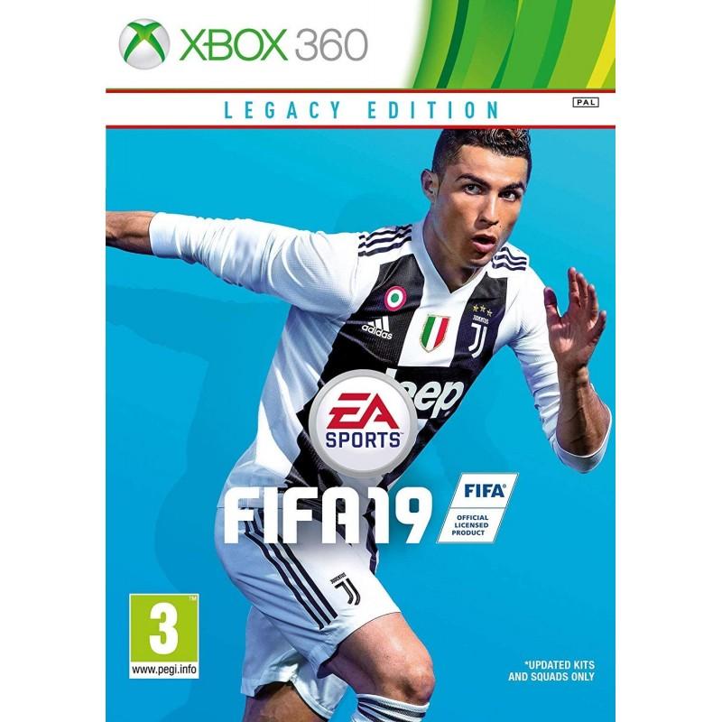 X360 FIFA 19 - Jeux Xbox 360 au prix de 24,95€
